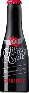 In-Spirit Glitter and Gold Cranberry Sparkling Wine, 200 ml- Lot of 12