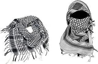 per uomo e donna da deserto kefiah per la testa escursionismo Sciarpa Hilai sciarpa stile militare tattico per sport allaperto campeggio in cotone