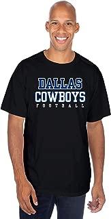 NFL Mens Practice T-Shirt, Black, Large