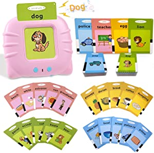 Flash Cards for Toddlers 2-4 Years - 112 Flashcard Learning toys for 2 3 4 year olds Preschool Learning Resource Electronic Interactive Toys for Kids Age 2-4 Gift for 2 3 4 year old boys girls