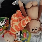 Set of 3 Assorted Style Hartz Jungle Plush Tiny Dog Toy