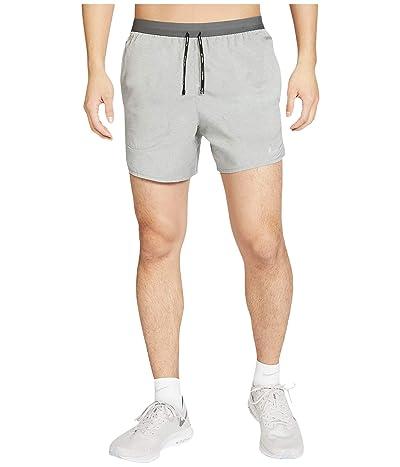 Nike Flex Stride Shorts 5 BF (Iron Grey/Heather/Reflective Silver) Men