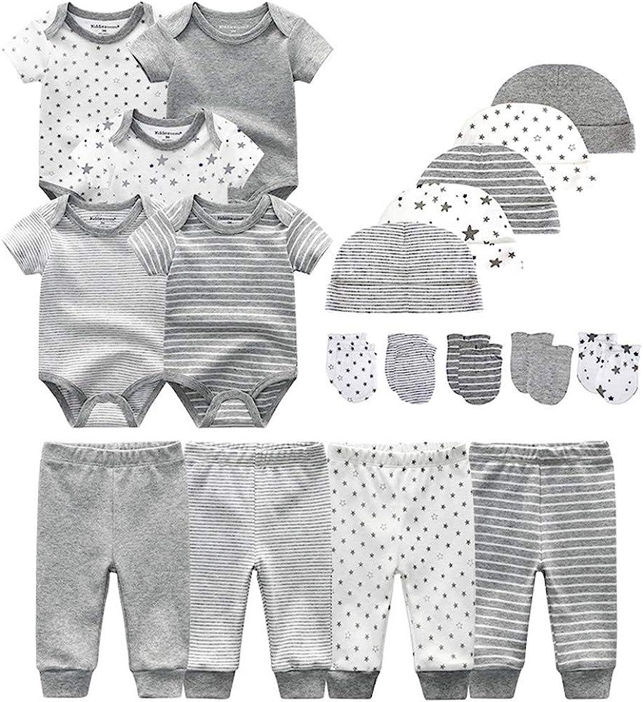 Unisex Baby Layette Essentials Giftset Clothing Set 19-Piece
