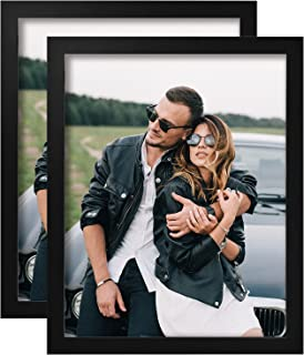Yome?2?Pack?Picture?Frames?with?Mats,?Photo?Frames?Set?for?Wall?or?Tabletop?Display?Pictures,?Perpetuate Your Memories,??S...