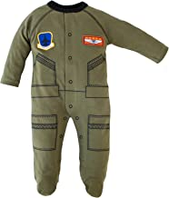 Trooper Clothing Flight Suit Infant Crawler (OD Green)
