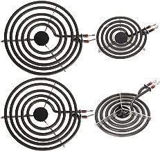Electric Range Burner Element Unit Set for Most Ranges- 2 pcs MP15YA 6