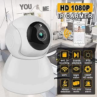 ETbotu WiFi 1080P 720P P2P Outdoor Wireless IR Cut Security IP Camera with Night Vision 1080P US Plug
