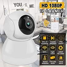 Thboxes WiFi 1080P 720P P2P cámara de Seguridad IP de Corte por Infrarrojos para Exteriores con visión Nocturna 1080P EU Plug