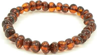 baltic amber silver bracelet