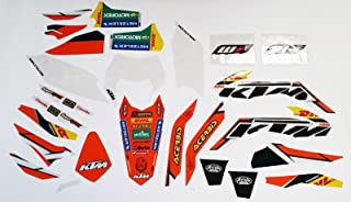 NEW OEM KTM FACTORY ENDURO GRAPHICS 200 250 300 450 500 XC-W EXC 78708990600
