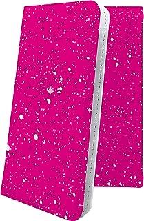 HUAWEI P20 ケース 手帳型 星空 ピンク 星 星柄 星空 宇宙 夜空 星型 ファーウェイ ケース 手帳型ケース おしゃれ huaweip20 ケース かっこいい 10314-wdices-10001564-huaweip20