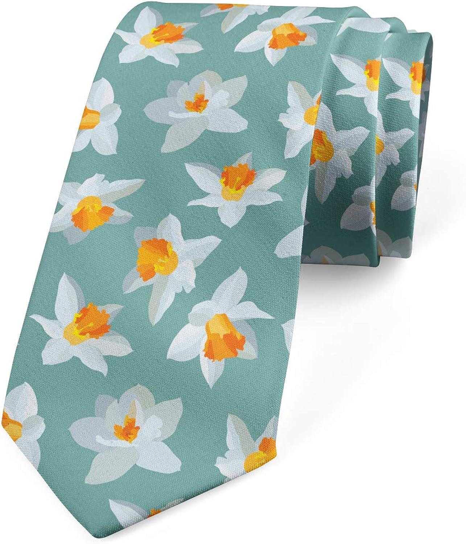 Lunarable Necktie, Romantic Petals, Dress Tie, 3.7