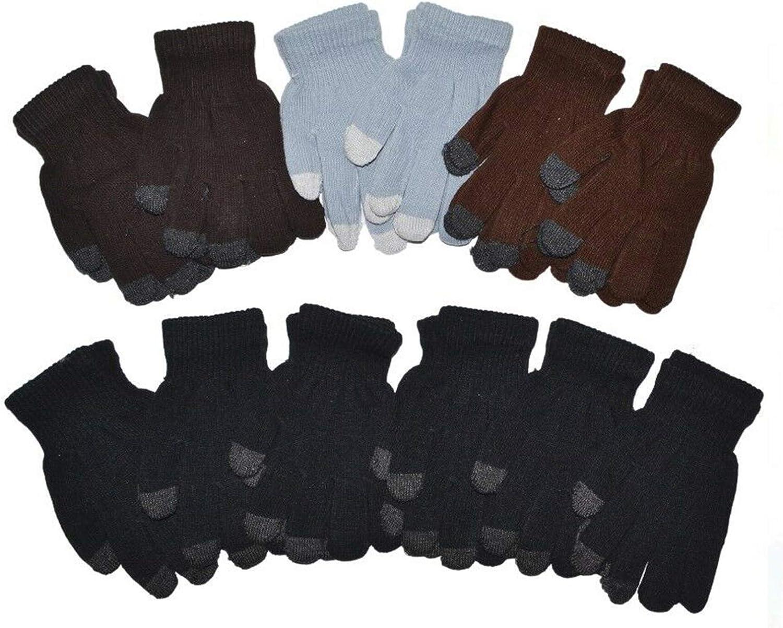 Great interest OPT Phoenix Mall Brand. 12 Pairs Wholesale Boys Knit Touchscreen Girls Magic