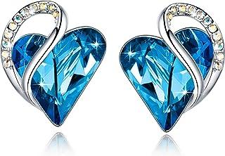 Infinity Love Silvertone with Birthstone Crystal Women's...