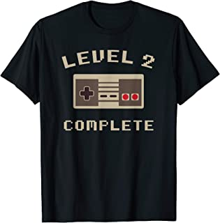 Level 2 Complete Vintage T-Shirt Celebrate 2nd Wedding