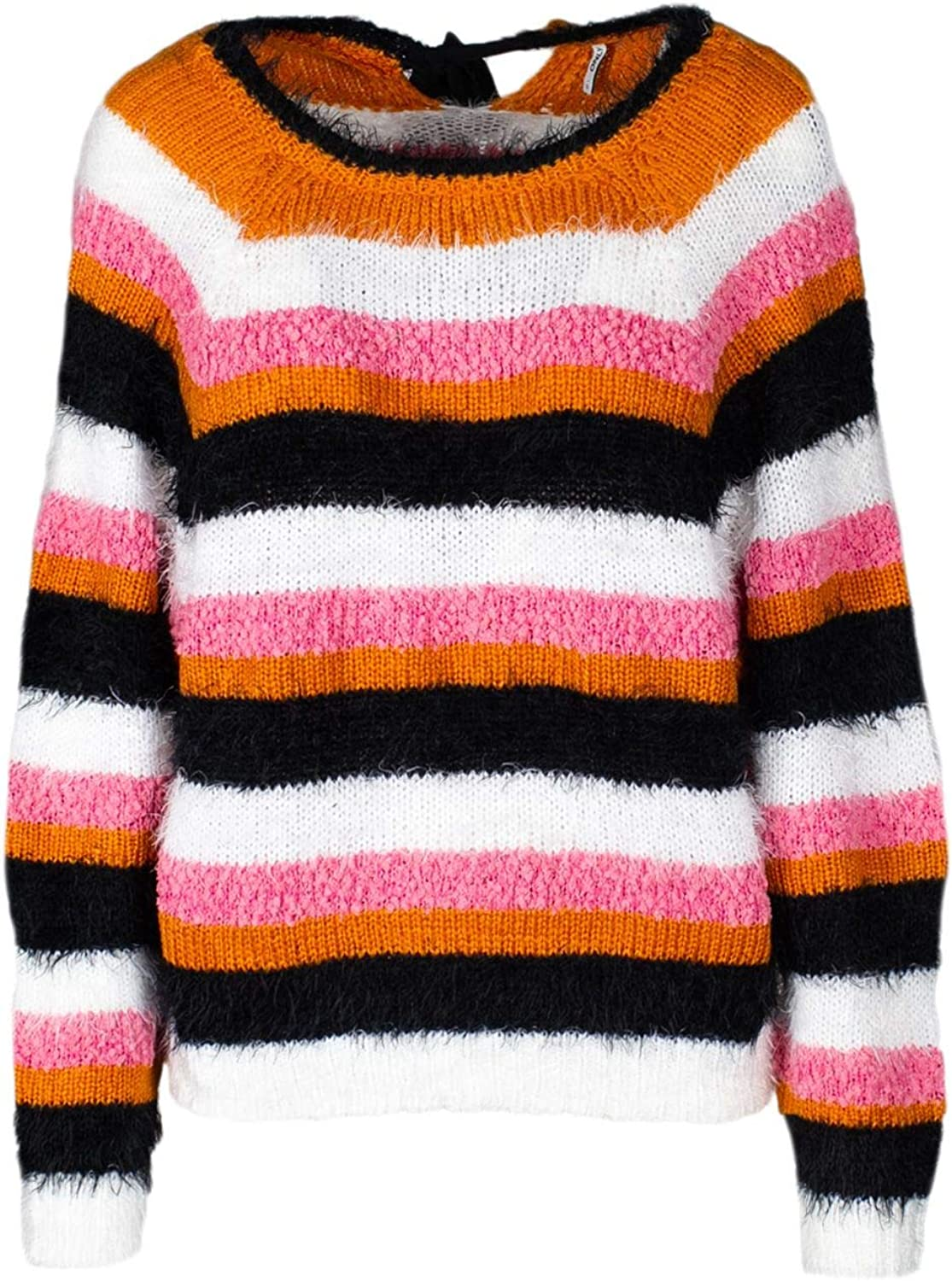 Only Women's 15168854MULTI Multicolor Acrylic Jumper