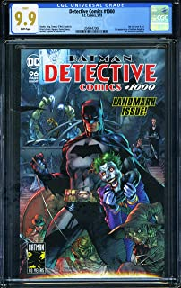 DETECTIVE COMICS #1000 - CERTIFIED CGC 9.9 - White Pages - Modern-Age Key