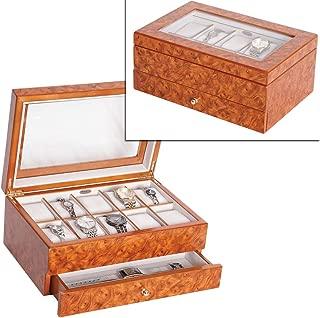 Mele & Co. Peyton Wooden Watch Box