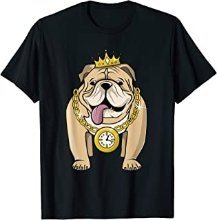 black and gold bulldog