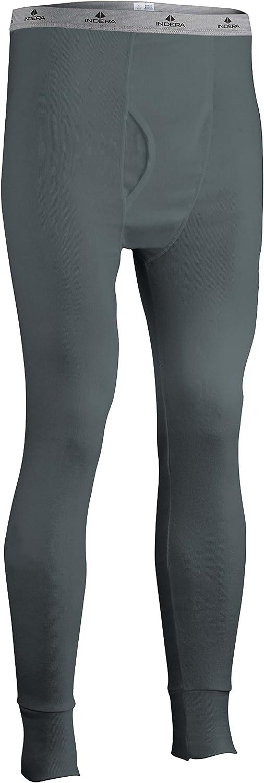 Indera Men's Tall Ranking TOP7 Cotton Rib Knit Pant Soldering Underwear Thermal