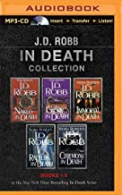 J. D. Robb In Death Collection Books 1-5: Naked in Death, Glory in Death, Immortal in Death, Rapture in Death, Ceremony in...