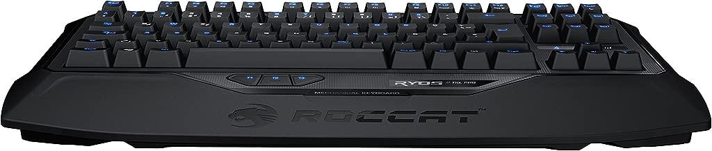 ROCCAT RYOS TKL Pro TENKEYLESS Mechanical Gaming Keyboard with Per-Key Illumination, Brown CHERRY MX