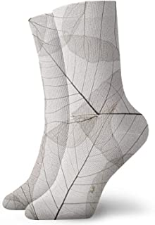 Jard-Baby, Leaf Texture Unisex Transpirable Comfort Quarter Calcetines Running Calcetines Hombres Y Mujeres Calcetines Atléticos Para Atlético