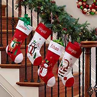 afee66d70 DIBSIES Personalization Station Personalized Holiday Christmas Stocking  (Penguin)