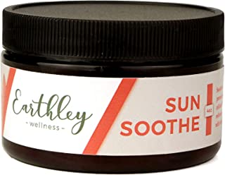 Earthley Wellness, Sun Soothe, All Natural Sunburn Relief, Comforts Sunburned, Sore, or Dry Skin Fast, Extra Hydrating For...