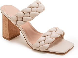 Details about  /Ladies Summer Sandals Women Casual Mid Heel Sliders Slip On Shoes 41//42//43 New D