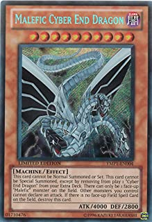 Yu-Gi-Oh! - Malefic Cyber End Dragon (YMP1-EN004) - 3D Bonds Beyond Time Movie Pack - Limited Edition - Secret Rare
