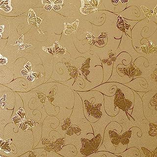 10m VLIES TAPETE Kinderzimmer Blätter Schmetterlinge XXL 2000