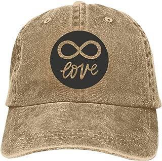 LeoCap Love Baseball Cap Unisex Washed Cotton Denim Hat Adjustable Caps Cowboy Hats