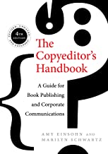 amy einsohn the copyeditor's handbook