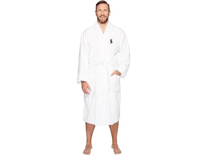 Polo Ralph Lauren Big & Tall Velour Terry Kimono Robe