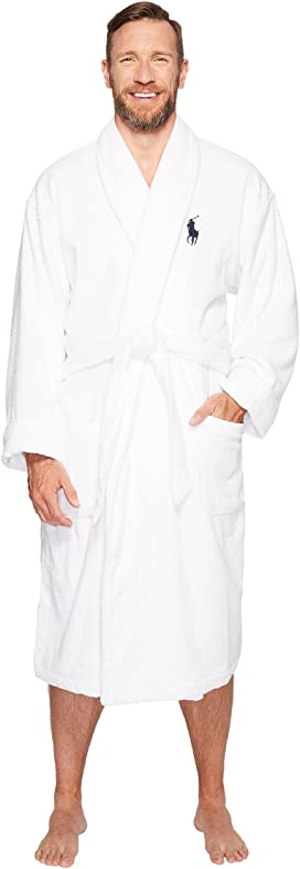 f0f72e03b46 Polo Ralph Lauren Terry Shawl Robe at Zappos.com