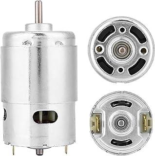 12V 3000 RPM dubbelkullager elektrisk verktyg DC-motor för skärmaskiner för remmaskiner för bandsågar