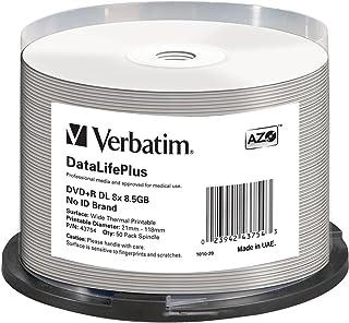 Verbatim 43754 - Disco DVD+R de 8.5 GB, 8X