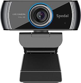 Cámara Web H.264 Full HD 1080p Webcam Live Streaming Computadora Portátil Cámara con Micrófono y para PC, Web CAM para Sky...