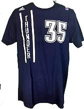 NBA Kevin Durant Oklahoma City Thunder Uniform Men's T-Shirt Blue