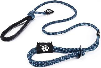 Correa para Perros 1.2m-1.5m con Collar Arnés 3 en 1 Freestyle Reflectante Ajustable Correa Retriever Durable con Mango Cómodo para Entrenamiento Pasear Senderismo (Azul)