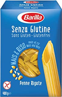 Barilla Penne Rigate Gluten Free, 400 g (Pack of 1)