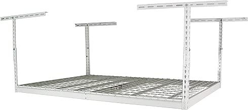 "SafeRacks – 4x6 Overhead Garage Storage Rack (24""-45"")"