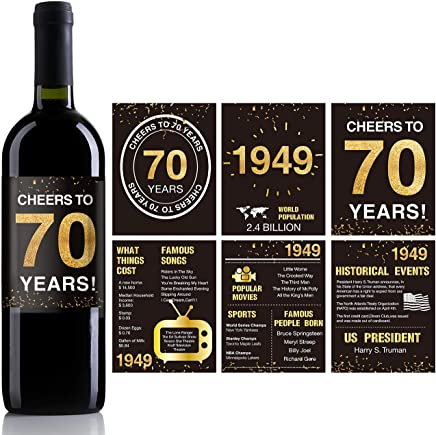Suchergebnis Auf Amazonde Für Geschenke Zum 70 Geburtstag