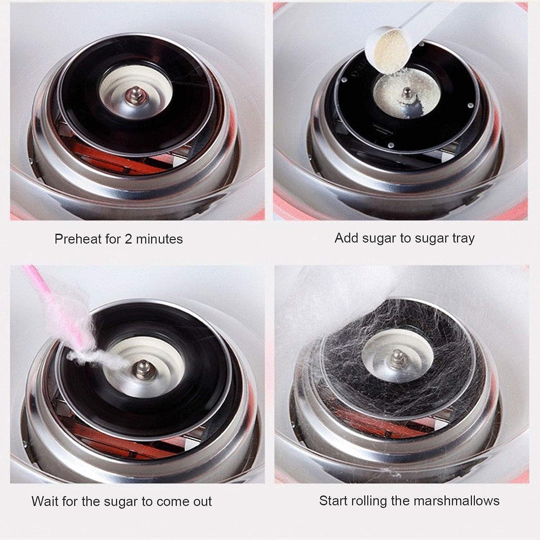 YXIAOJ Électrique Marshmallow Machine Floss Machine de Cuisine Bonbons Bricolage Deux Couleurs en Option Marshmallow Machine (Color : Pink) Blue
