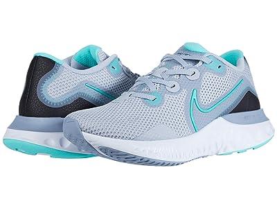 Nike Renew Run (Sky Grey/Hyper Turquoise/Obsidian Mist/White) Women