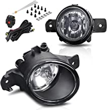 AUTOSAVER88 Fog Lights H11 12V 55W Halogen Lamp Clear Glass Lens For 04-18 Nissan Sentra /11-14 Nissan Maxima/07-up Altima Sedan/ 14-16 Rogue/ 08-10 Infiniti M35/ M45/ 10-11 G37 (w/Wiring Kit)