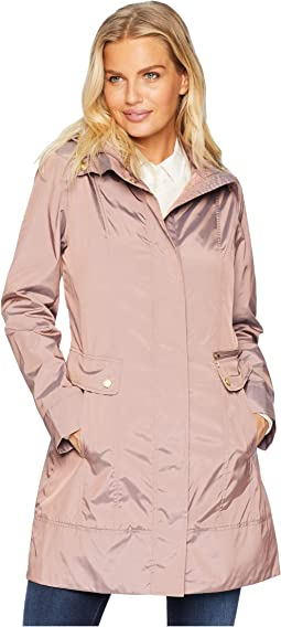 6baa52754 Cole haan bib front down coat with oversized shawl collar + FREE ...