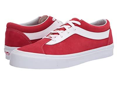 Vans Bold Ni ((Staple) Racing Red/True White) Athletic Shoes