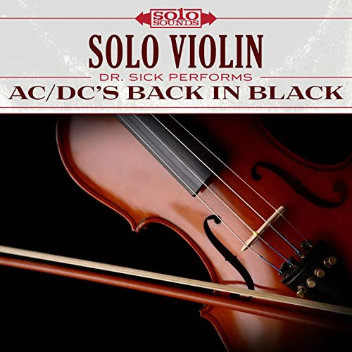 AC/DC Back in Black: Solo Violin by Solo Sounds on Amazon Music
